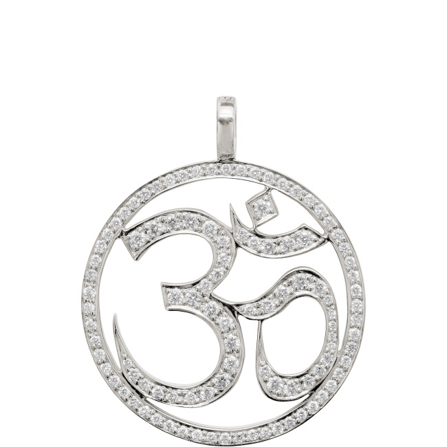 Large OM IN CIRCLE Anhänger