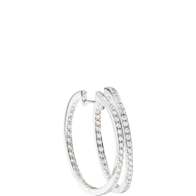 Medium HOOPS Ohrschmuck