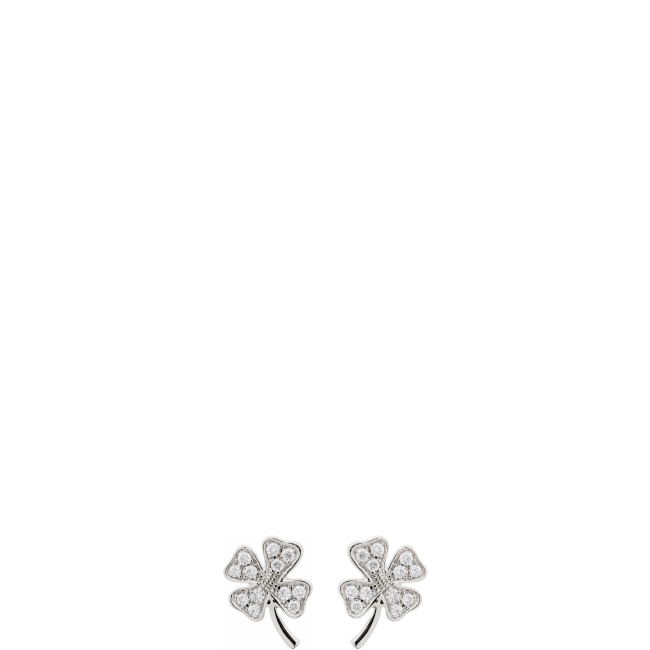 Tiny LUCKY CLOVER  Ohrstecker