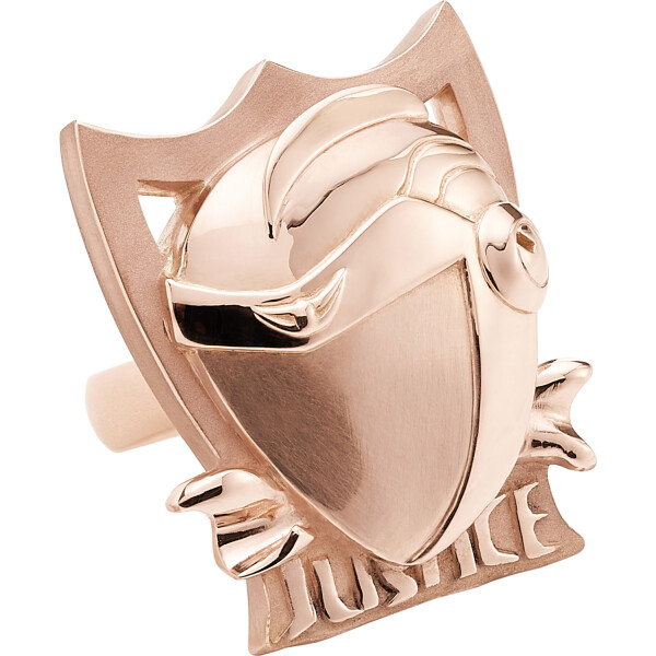 JUSTICE Ring Pinkgold