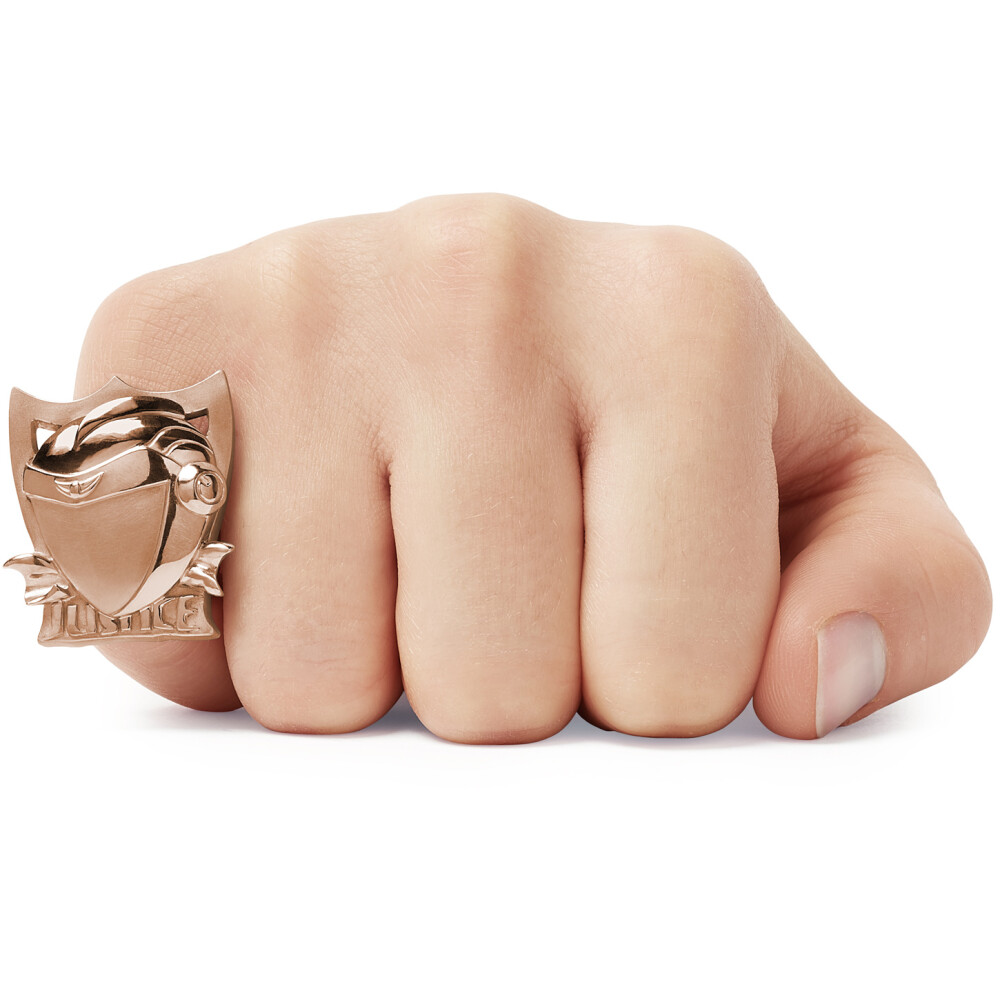 JUSTICE Ring Pinkgold 3