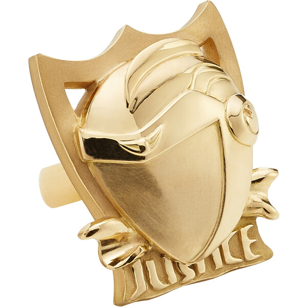 JUSTICE Ring Gelbgold