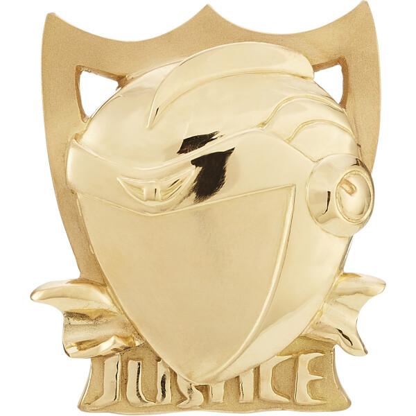 JUSTICE Ring Gelbgold 2