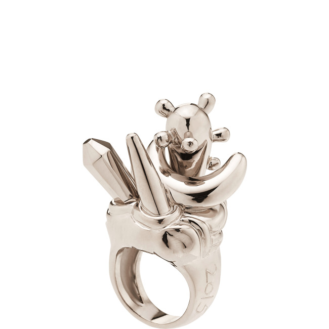 AARON CURRY for CADA<br><br>MOON Ring