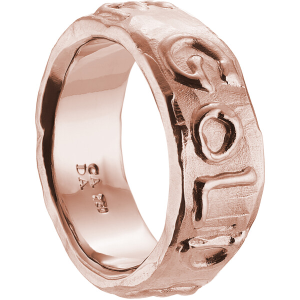 GOLD ERZ BABE Ring Pinkgold 2