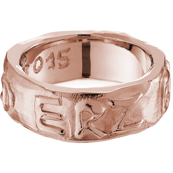 GOLD ERZ BABE Ring Pinkgold 4