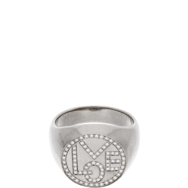 Mini mini LOVE SIGNET Ring