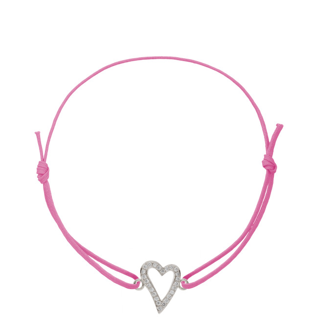 NEW CURVED HEART an Nylonband